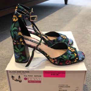 Alice and Olivia Cooper sandals